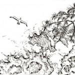 Machrimas drawings Sea Baltic
